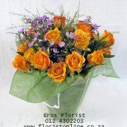 20 roses in a bag