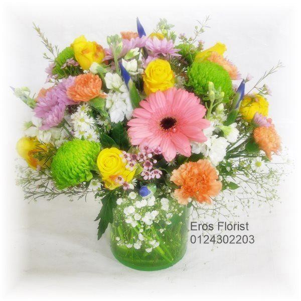 Bright Mix in Vase