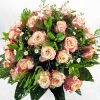 A delightful bunch of 40 luxurious medium stem roses