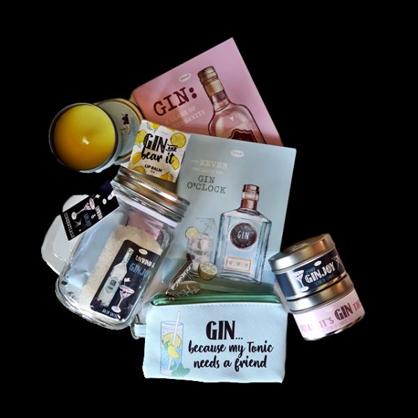 gin hamper by Eros Florist